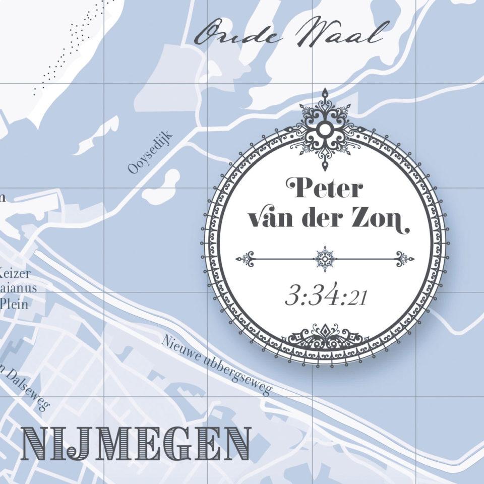 Print Stevensloop Nijmegen Classic Blue