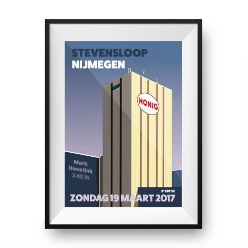 Special print Stevensloop Nijmegen - Print my run