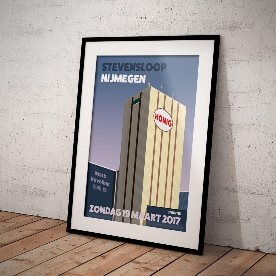 Special print Stevensloop Nijmegen – Print my run