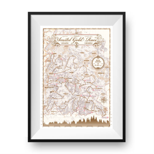 Amstel Gold Race print - print my run