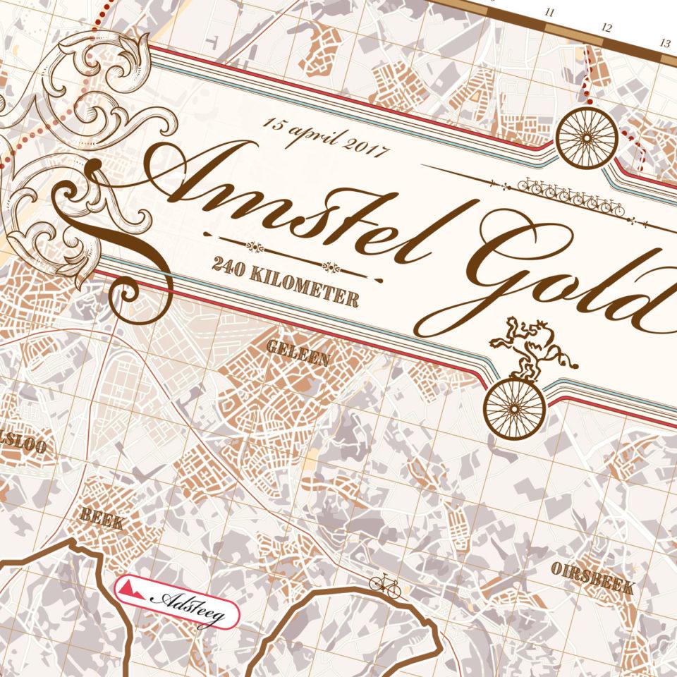 Amstel Gold Race print – print my run
