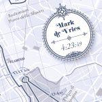 Rome Marathon print - Print my run