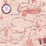Berlijn Marathon Red - Print my run