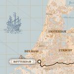 Roparun Hamburg - Rotterdam print - print my run