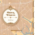 Print New York City Marathon Classic Brown - Printmyrun