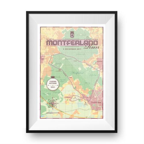 Montferland Run - print my run