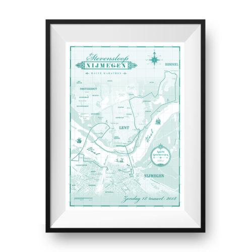 Stevensloop print printmyrun