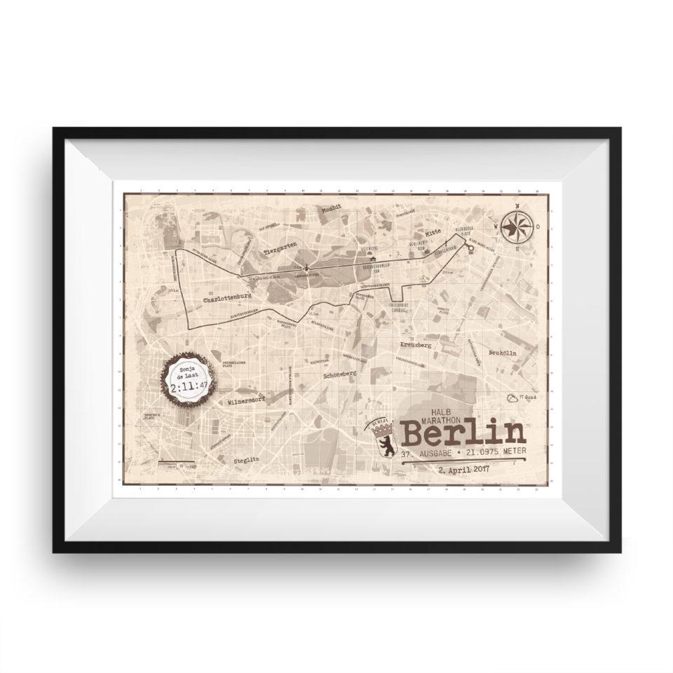Berlijn Halve Marathon print